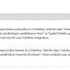 Configurazione del modulo Colorbox (Extra features)